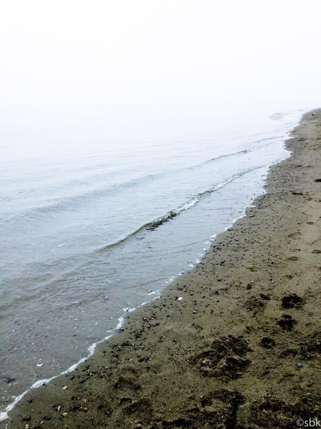 water fog sand